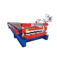 Quality Trapezoidal PPGL Metal Roofing Sheet Roll Forming Machine With 22 Rollers for sale