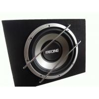 Quality Powered 500 Watt Car Subwoofer In Box , Single Car Subwoofer Enclosure for sale