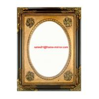 China antique gold wooden picture frame on sale