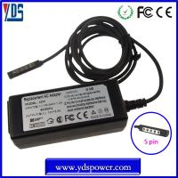 Quality wholesale china charger dc power adapter / tablet charger 12v 3.6a 45w for microsoft surface pro for sale