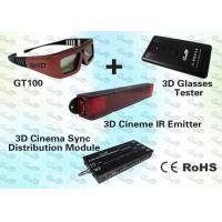 Quality 3D Cinema Solution for 300~1000 seat cinema with 3D IR Emitter and 3D IR Glasses for sale