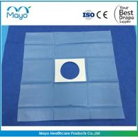 Quality CE Approved Disposable Surgical Medical Incise Drape Fenestrated Drape with hole for sale