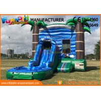 Buy cheap Large Inflatable Bouncer Slide Jumping House For Kids 3 Years And Above from wholesalers
