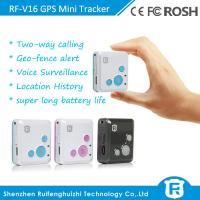 Quality long distance mini personal children gps tracker with sos panic button for sale