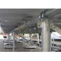 Quality Flexible Ballasted Ground Mount Solar Racking Metal Alloy 6005 - T5 for sale