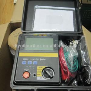 Quality GD 2305 5kV High Voltage Insulation Resistance Tester Digital Ohm meter for sale