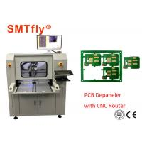 China Stand Alone CNC PCB Depaneling Router Machine With 80mm/S , 0.1mm Cutting Precision on sale