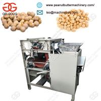 Quality Hot Sale Stainless Steel Wholesale Chickpea Gram Skin Peeling Machine With Low Price for sale