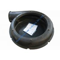 Quality Slurry pump parts-volute liners with natural rubber material for sale
