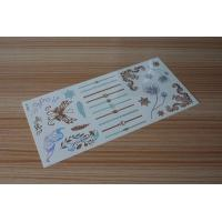 Quality Stock wholesales metallic tattoo designs M-T021 for sale