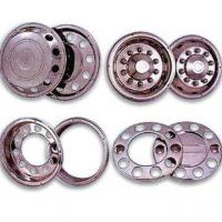 Quality High-grade Stainless Steel Wheel Cover for Trucks and Buses with Crucial Shock-absorbing Capability for sale
