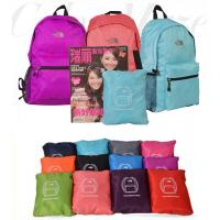 China Lightweight breathable Travelling Foldable Backpack clearance sale USD$0.85/pcs on sale