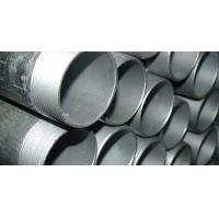 Quality Seamless Threaded Galvanized Steel Pipe With ASME A106 B Carbon Steel Material for sale