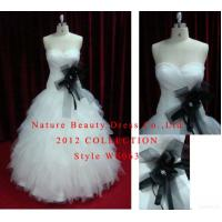 Quality Sweetheart Strapless Satin&tulle Ball Gown With Beading for sale