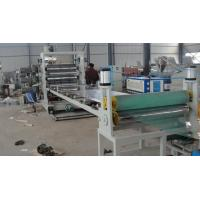 Quality Plastic Sheet Extrusion Line , Twin Screw PVC Extrusion Machinery for sale