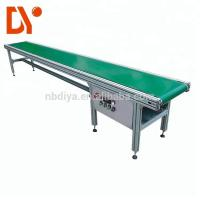 Quality Double Face Belt Conveyor Belt System DY90 Green Rubber Plastic With Aluminum Alloy for sale