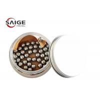 Buy 100Cr6 1.7mm Chrome Steel Balls G60 For Nail Polish Excellent Hardness at wholesale prices