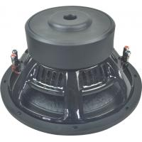 Quality 12 steel frame 2.5 voice coil dual magnet car audio subwoofer for sale