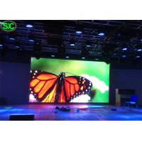 Quality HD Indoor Rental Led Display Full Color , Led Tv Advertising Video High Brightness for sale