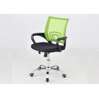 Quality Caster Office Cushion Seat Mesh Swivel Revolving Chair for sale
