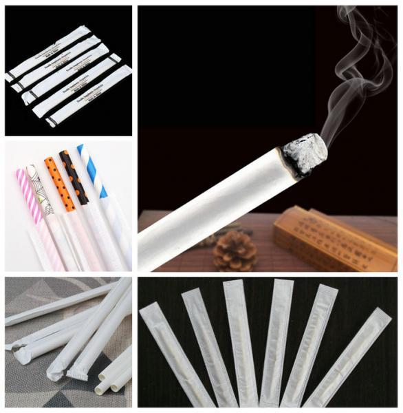 28gsm Cigarette Paper Roll For Paper Straws 100% FDA Biodegradable 27MM 32MM
