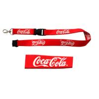 Quality Woven Satin Lanyards,Carabiner Hook Lanyards for sale