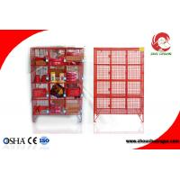 Quality ZC-X34 Industrial Padlock Lockout Equipment Storage painted hardened steel material for sale