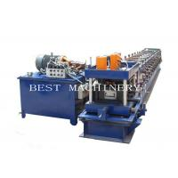 Buy cheap Manual Adjustable 3mm Thickness C Purlin Roll Forming Making Machine from wholesalers