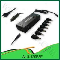 China Factory Supply Home/car Use Universal Laptop  Charger - 120w Ac/dc on sale