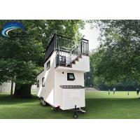 Buy cheap Wholesales Prefabricated light steel tiny house on wheels with trailer from wholesalers