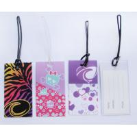 Buy cheap Plastic Luggage Suitcase Baggage- Travel Bag Name Address Holder Label Tags from wholesalers