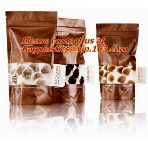 China BRC Standard Qual Seal Kraft Paper Bags With Tin Tie Coffee Bags Plastic Valve,Customzed Side-Gusset Valve Tintie Plasti on sale