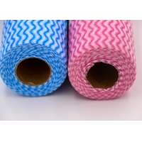 Quality 60GSM Nonwoven Fabric Disposable Cleaning Cloth for sale