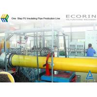 Quality One Step Heat Insulation Pipeline / Pipe Production Line DN 25 - DN 350 mm for sale