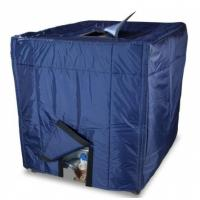 Quality Weather Proof IBC Container Covers Coated Polyester Material IBC Cover for sale