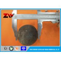 Buy cheap Unbreakable high hardness grinding balls for mining , grinding media steel balls from wholesalers