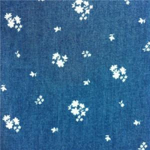 Quality 130421-A1 100%Cotton 111x58/32x32 Printing Denim for sale