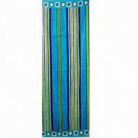 Quality Beach Towel with Velour Reactive Printing and Excellent Color Fastness, Made of Soft Fabric for sale