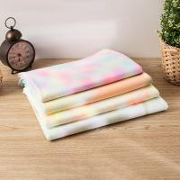 China Comfortable Hygroscopic Tie Dye Cotton Fabric For Sportswear And T-Shirt on sale