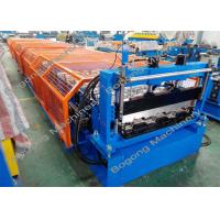 Quality Floor Deck Metal Forming Equipment Hydraulic Cutting Large Capacity for sale