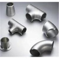 Buy cheap Duplex steel pipe fittings, UNS S31803, S32205 , elbow, tee, reducer,ASTM A815 from wholesalers