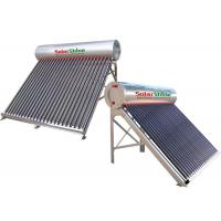 Quality 155 - 450 L Capacity Vacuum Tube Solar Water Heater , Passive Solar Water Heater for sale