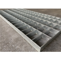 China Galvanized Metal Grate Walkway Platform Trench / Drain Cover 30/3 30*100mm on sale