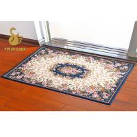 Quality Non-slip 3D Digital recycled Indoor Area Rugs with Standard PVC Dots for sale