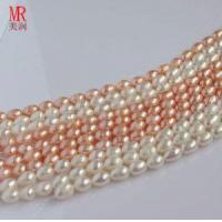 Quality 8-9mm Rice Shape Freshwater Pearl Strand for sale