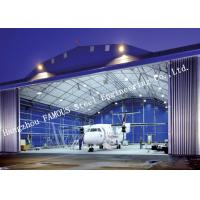 Quality Airport Development Aircraft Hangar Buildings , Steel Airplane Hangars Constructions for sale