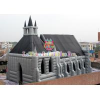 Quality Multi Color Inflatable Halloween House Tent Waterproof Unique Design for sale