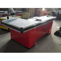 Quality Grocery Store / Supemarket Conveyor Belt Checkout Counter Anti - Corrosion Durable for sale