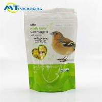 Quality Gravure Printing Pet Food Packaging Bags For Birds Accept Customized Logo for sale