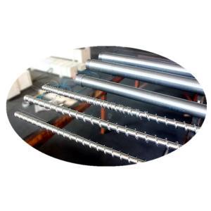 China PP PE Plastics Injection Machine Screw Hard Chrome Plating Treatment Surface on sale